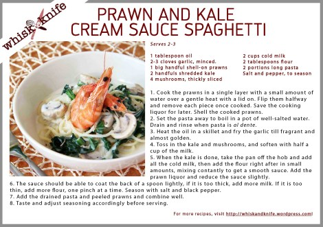 Prawn Cream Card