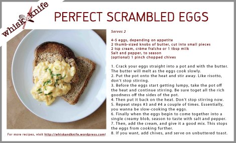 Scrambled Eggs Card
