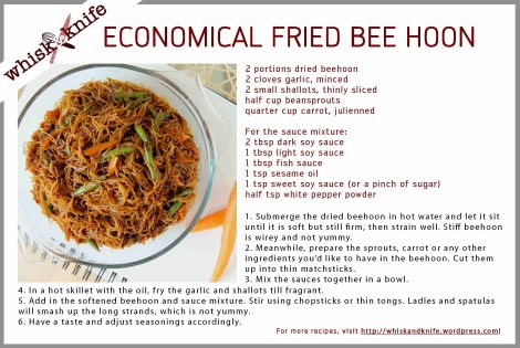 Economical Beehoon card
