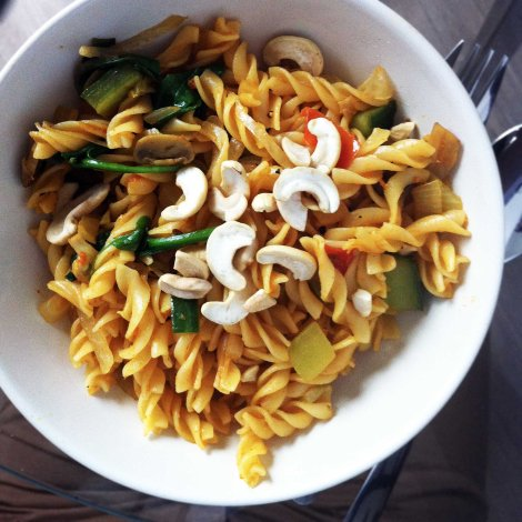 Curry Fusilli