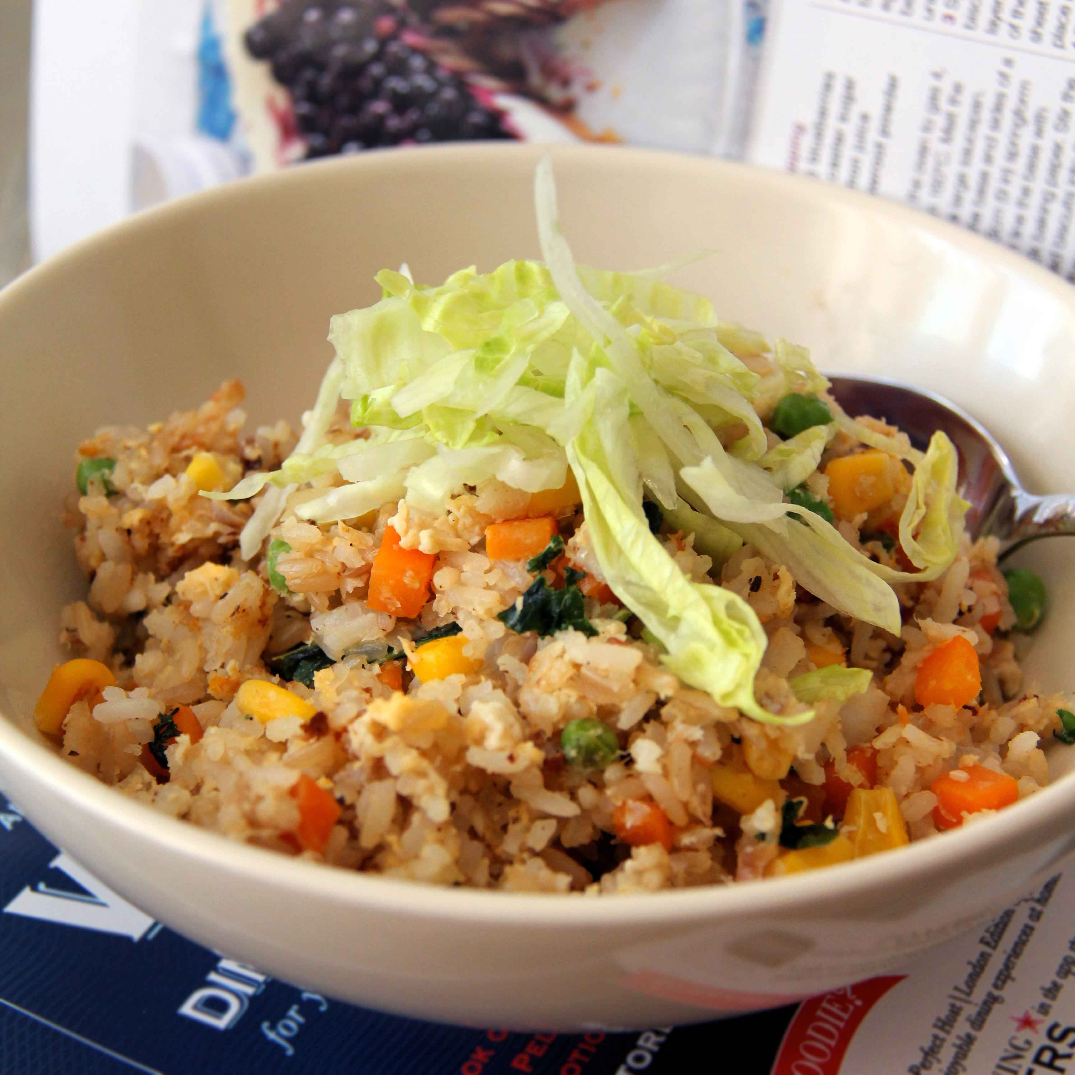 Fried rice paradise whisk knife being able to add in practically anything to the fried rice mix oh and i even get to chop up everything to small bits which is such a joy ccuart Image collections