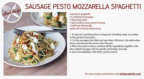 sausagepestomozzarella card